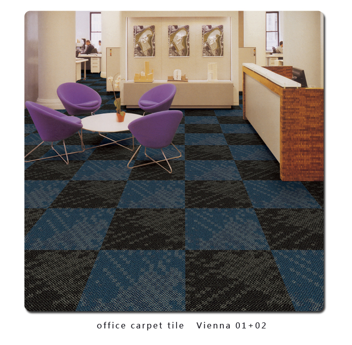 office carpet tile   Vienna 01+02