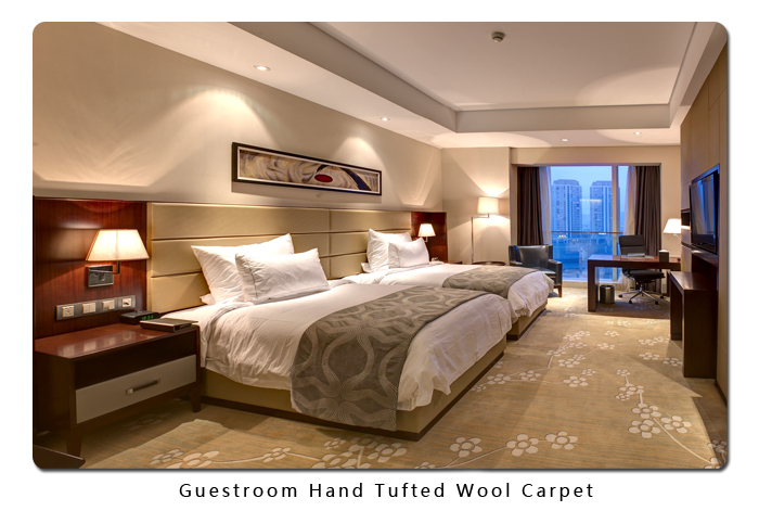 Guestroom Hand Tufted Wool Carpet