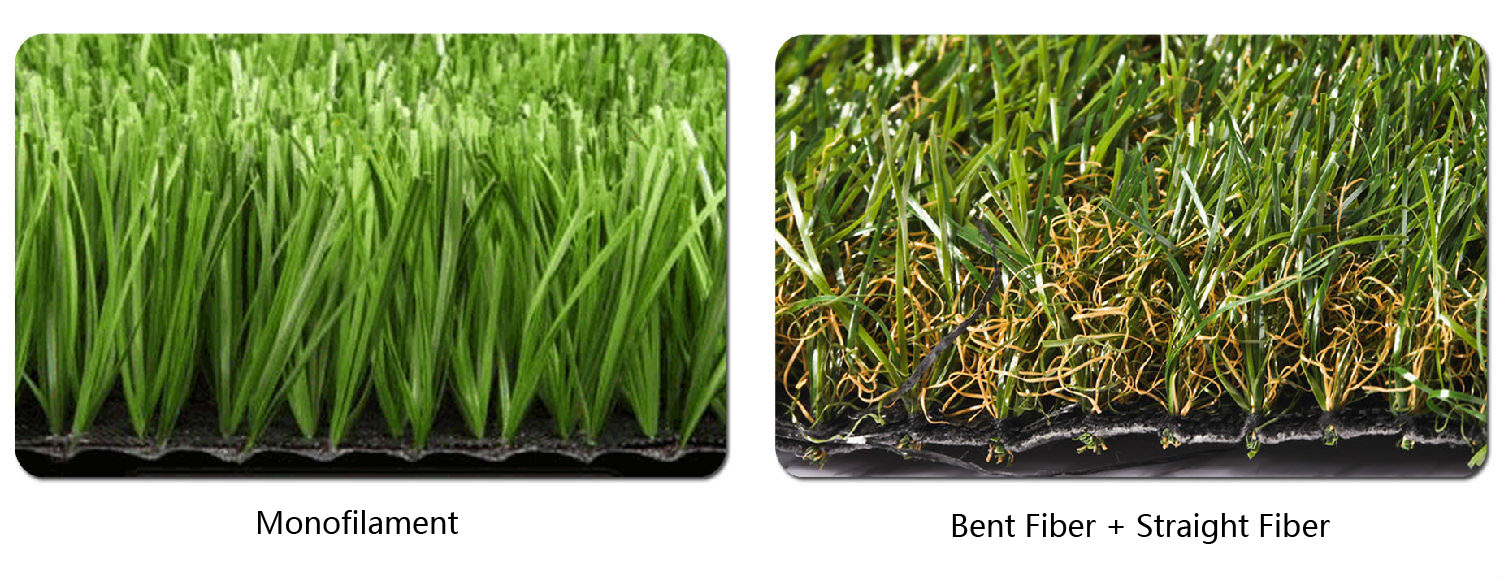 Artificial turf grass fiber