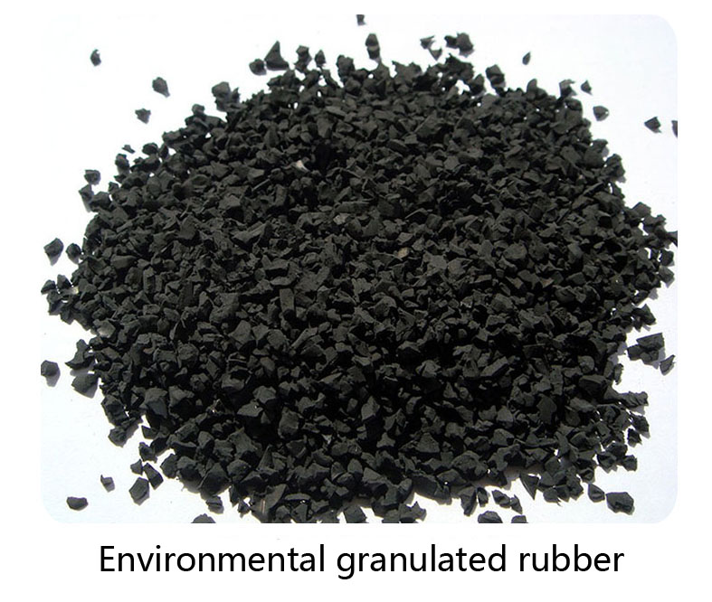 Environmental granulated rubber