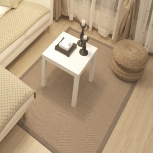 Natural Sisal carpet, grey s...