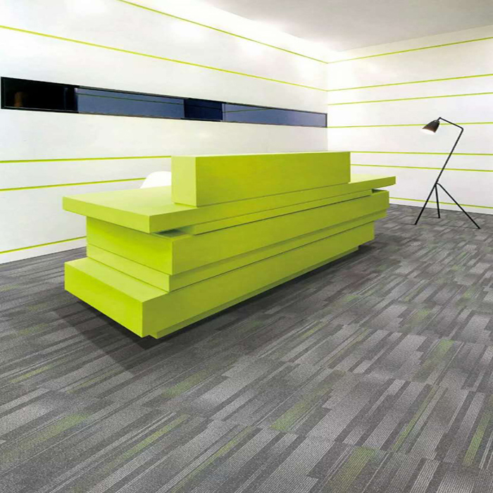 Why carpet tiles more popular in commercial use