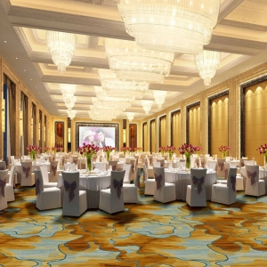 ZSJZ041, 100% Nylon Printed Banquet Hall Carpet